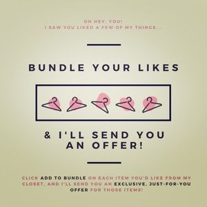 I can make some great deals with bundles!!!